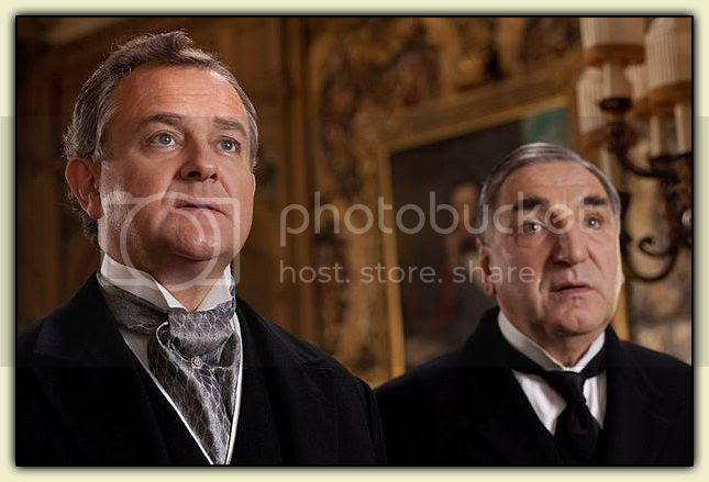 Lord Grantham and Carson