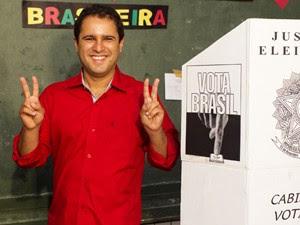 Edivaldo Jr. foi eleito pela primeira vez para a prefeitura de São Luís (Foto: Paulo Soares / O Estado)