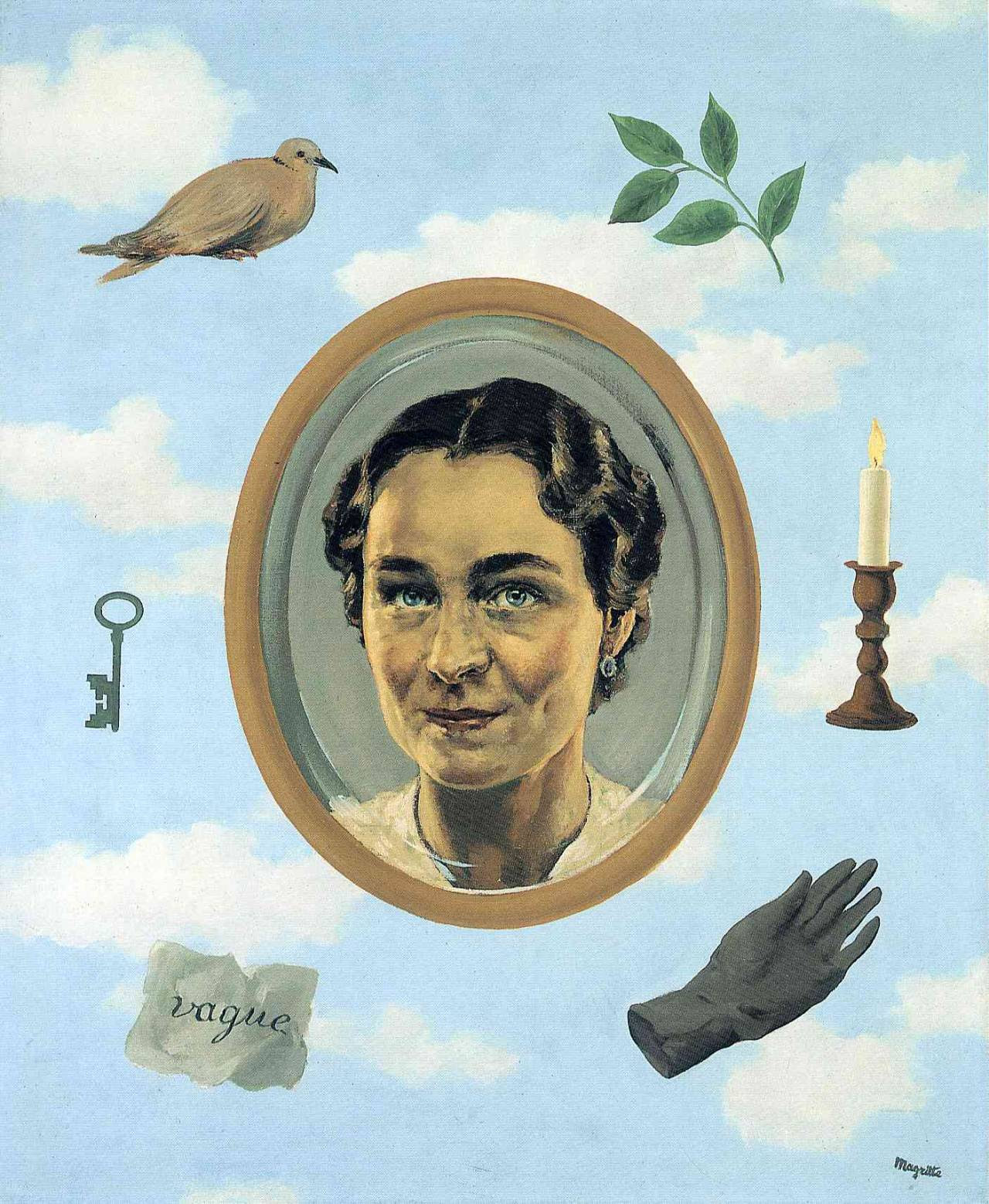 Georgette, 1937 Rene Magritte