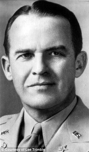Boss: Major General John R. Deane, head of the US Military Mission to Moscow, in 1944, was Trimble's ultimate boss