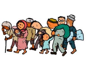 Flyktingar från krig