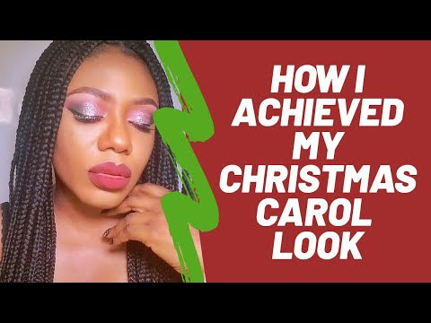How I Achieved My Christmas Carol Look