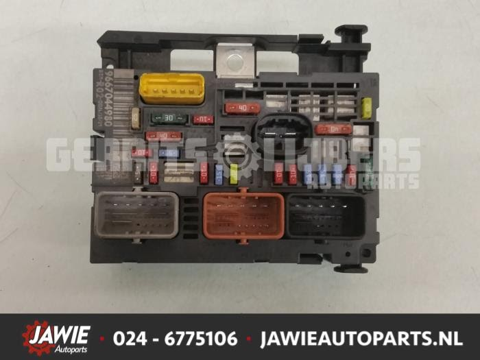 Peugeot 3008 Fuse Box Diagram
