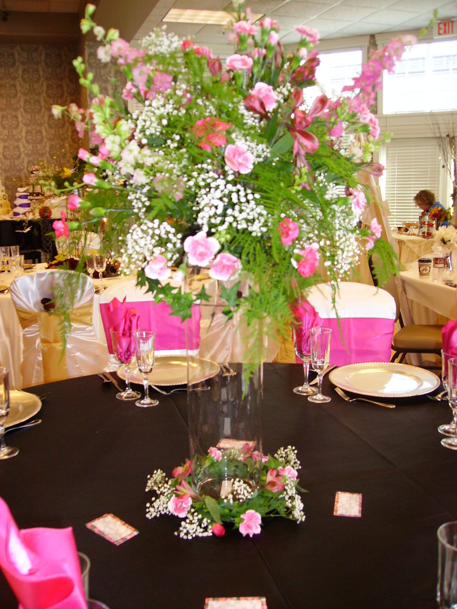 All About Wedding Spring Wedding Reception Table Styles