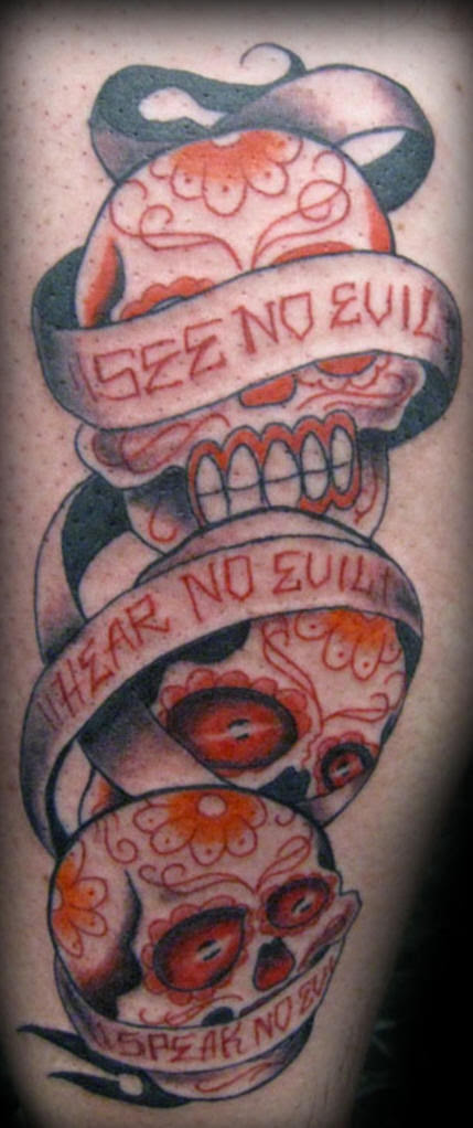 I See No Evil I Hear No Evil I Speak No Evil Tattoo Designs