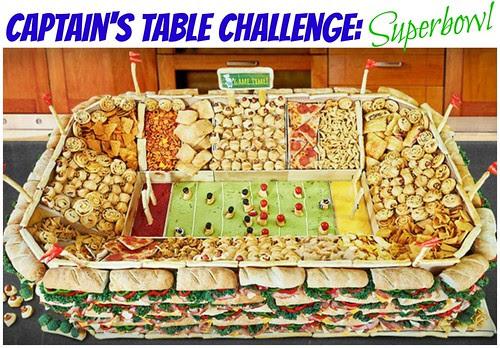 Captain's Table Challenge: Superbowl!