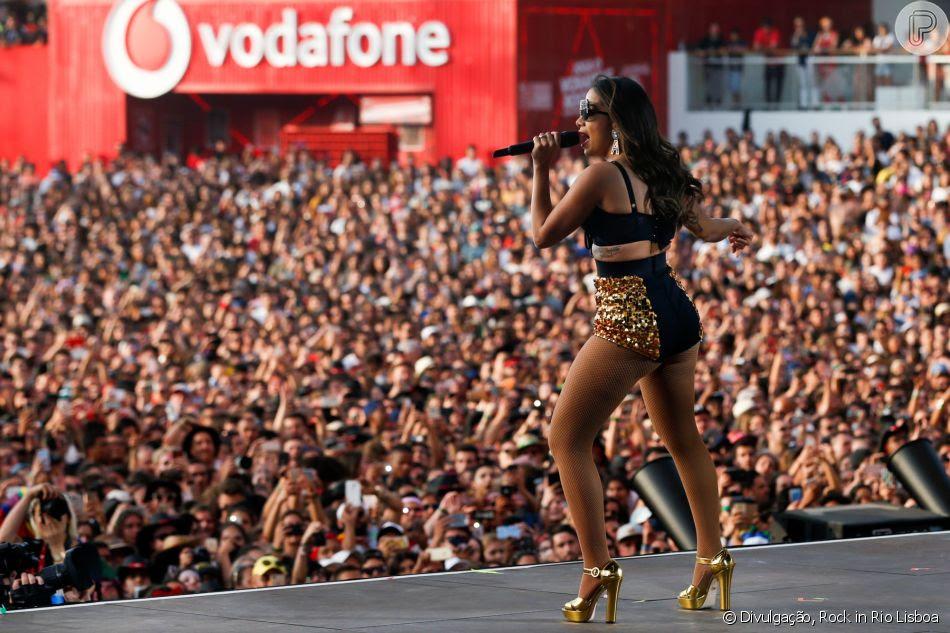 'Não entendi nada do que você falou... Você falou tão rápido', assumiu Anitta durante participação em um programa de Londres