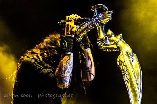 Jonathan Davis, vocals, Korn, Aftershock 2013