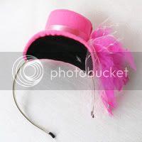 Fushcia Mini Hat