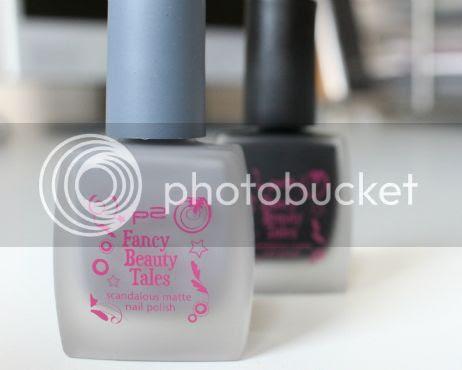p2 Fancy Beauty Tales Matt Nail Polish