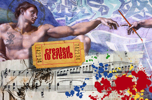 music, art and theater, Genesis 1, make man in our image