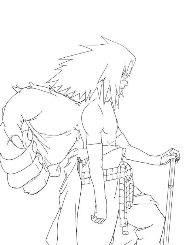 Dibujos Para Colorear Naruto 11 Dibujos Manga Para Colorear Y