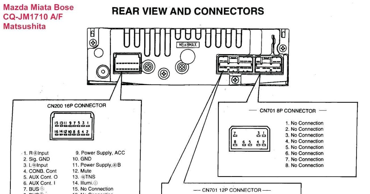 97 Lexus Stereo Wiring Harness