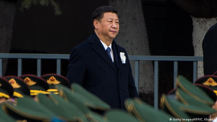 China Xi Jinping in Nanjing (Getty Images/AFP/C. Khanna)