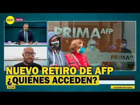 AFP: Aprueban nuevo retiro de S/ 17,600 de los fondos de pensiones
