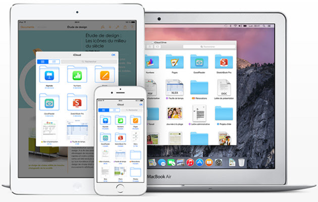 iCloud Drive iOS 8