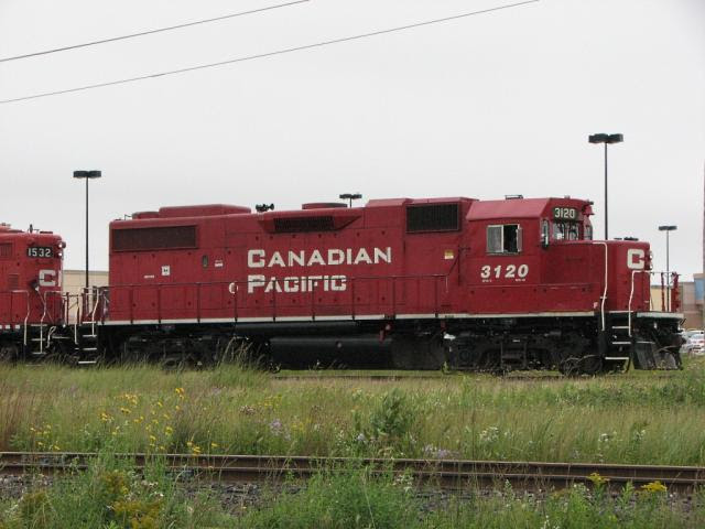 CP 3120 in Winnipeg