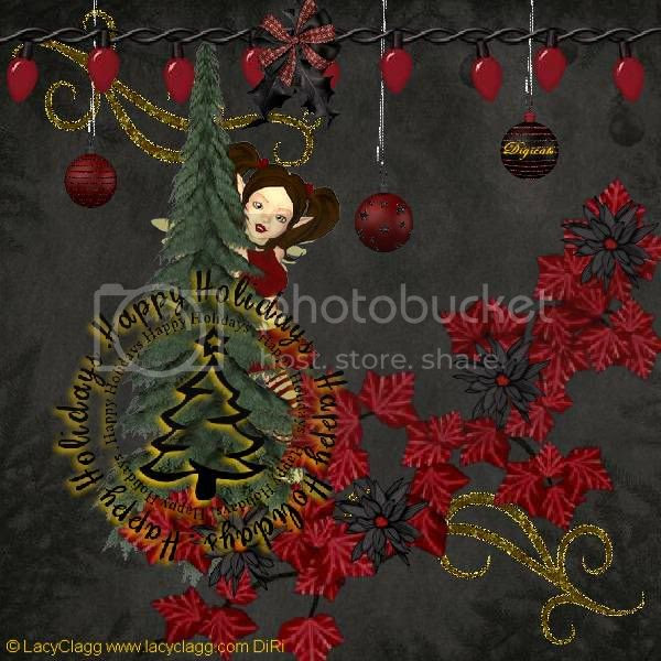 Happy Holidays,Christmas,Sprites & Imps