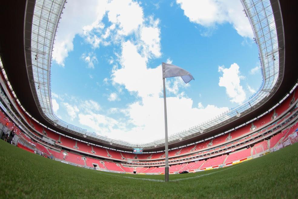 Arena Pernambuco será palco de Náutico x Ceará (Foto: Marlon Costa / Pernambuco Press)