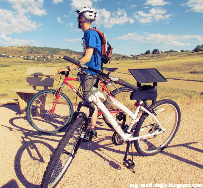 Biking at Ft.Collins