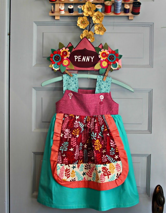 Penny Dress & Crown Set