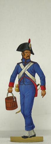Artillery worker
