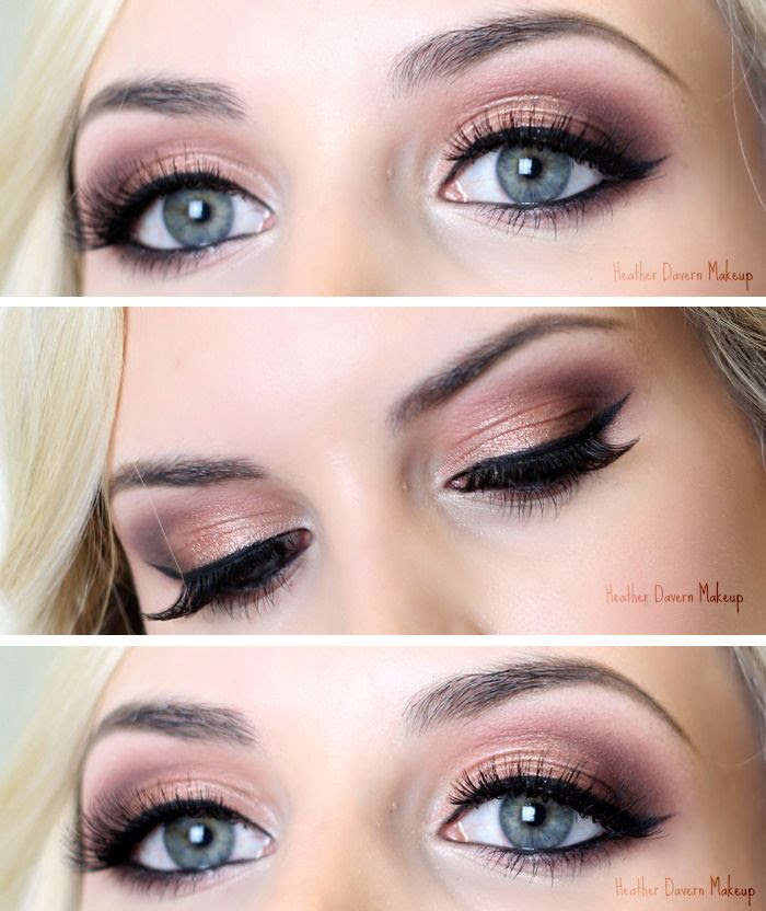 Todays Look: Rose Gold - Heather Davern Makeup