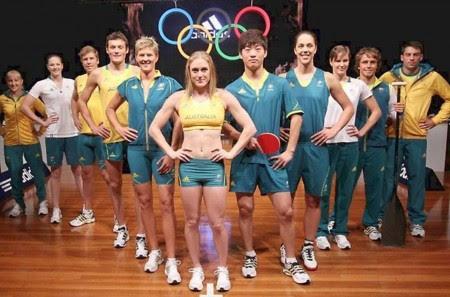 4. Australia e1343828848432 Top 10 Best Olympic Uniforms 2012