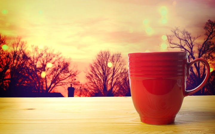 Good Evening Coffee Cup Wallpaper By Lauriesanders Revelwallpapersnet