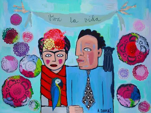 """Frida and Diego"" by good mood factory / Anita Damas"