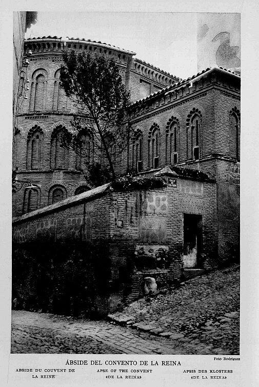 Iglesia de San Bartolomé a principios del siglo XX Fotografía Rodríguez