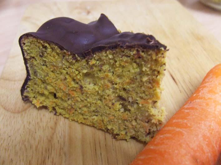 Carrot cake with stevia - gluten free/ sugar free - Stevia ...