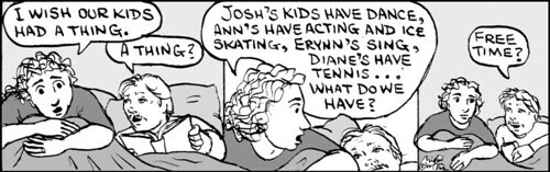 Home Spun comic strip #544