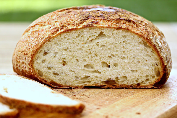 White Bread and Skillet Pizza with 80% Biga