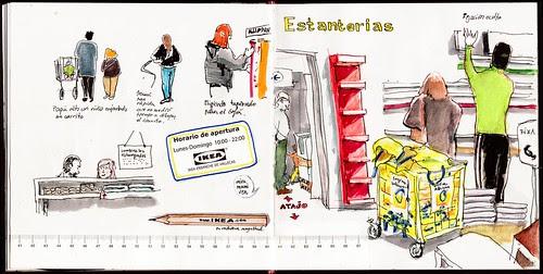 Dibujar en Ikea