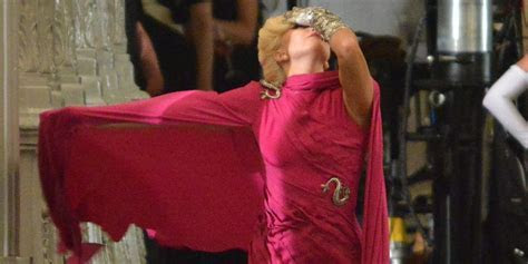 Lady Gaga Films 'American Horror Story: Hotel' In Gorgeous