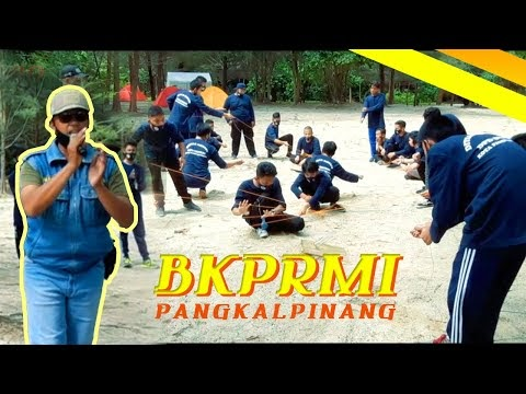 Dokumentasi Outbound Capacity Building BKPRMI DPD Kota Pangkalpinang di Pantai Tikus Emas Bangka