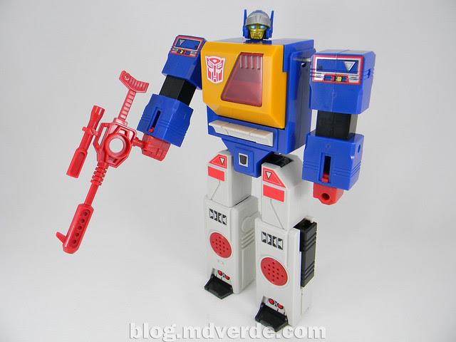 Transformers Twincast - G1 Encore - modo robot