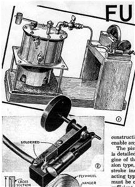 Article With Plans Build Make Simple Steam Engine & Steam