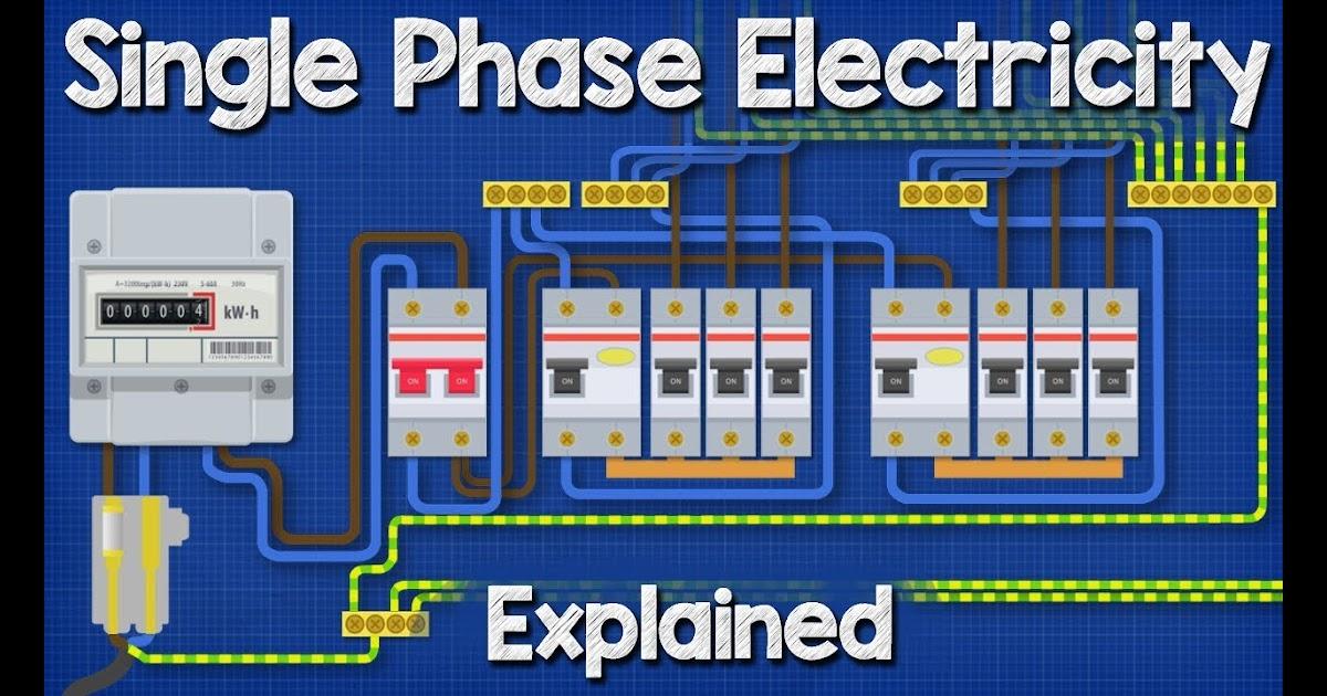 230 Volt Single Phase Wiring In Breaker Box