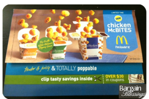 Chicken 300x201 McDonalds: Coupon Book Worth $30   Free Snack Size Chicken McBites