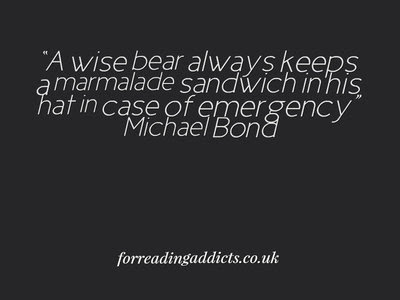 Michael Bond Quotes From Deepest Darkest Peru For Reading Addicts