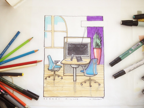 herman miller sketch works by douglaswittnebel
