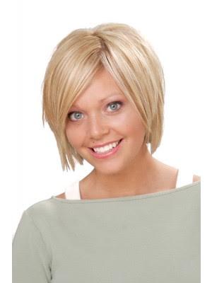 Kurze Haarschnitt Perücke Rundes Gesicht Kaufen Mode Perücken Online