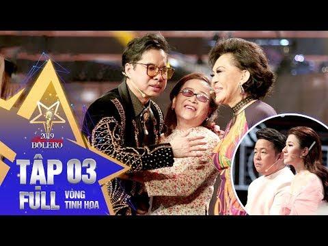 Thần Tượng Bolero 2019 | Tập 3 full: Giao Linh, Ngọc Sơn bật khóc vì giọng ca của thí sinh khiếm thị