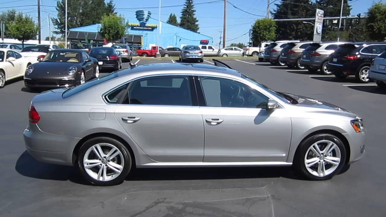 2013 Volkswagen Passat, Tungsten Silver Metallic - STOCK# 109401 ...
