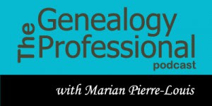 The Genealogy Professional podcast webinar