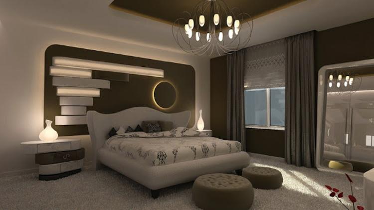 Luxury Modern Bedroom Interior Design
