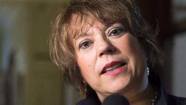 La ministre de la Culture et des Communications du Québec, Hélène David