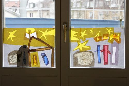 Fensterbild Weihnachten 2011